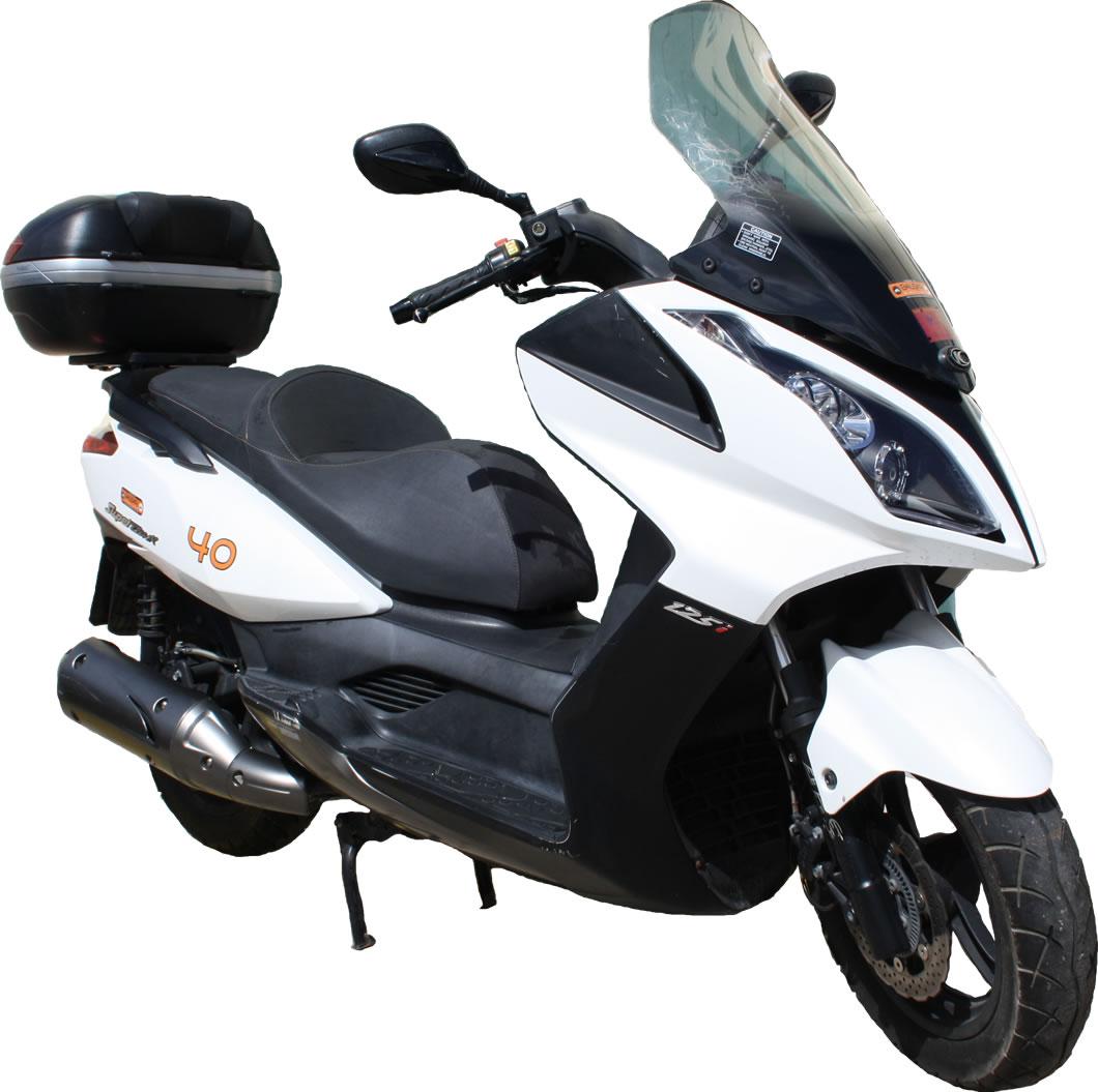 moto kymco super dink 125cc